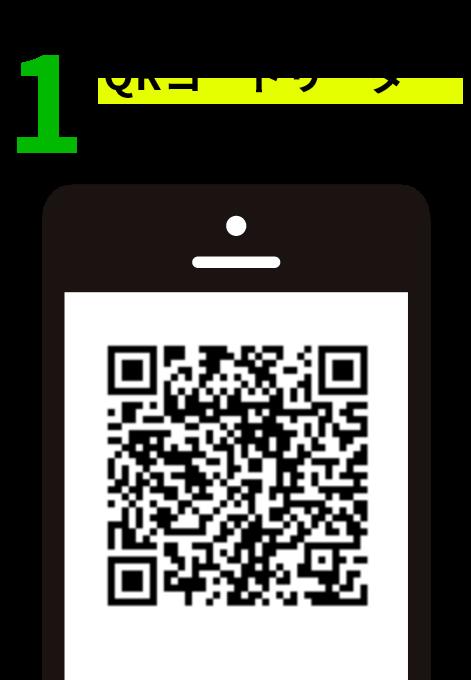 1.QRコードリーダーを読み込み登録